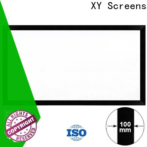 XY Screens retractable Projection Screens directly sale for indoors