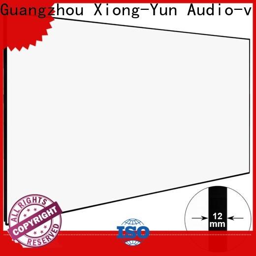 XY Screens big hd projector screen series for indoors
