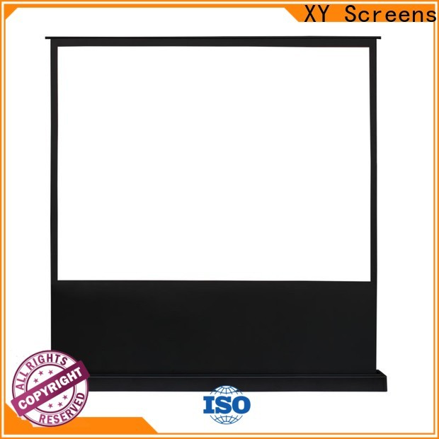 manual pull up projector screen with good price for home