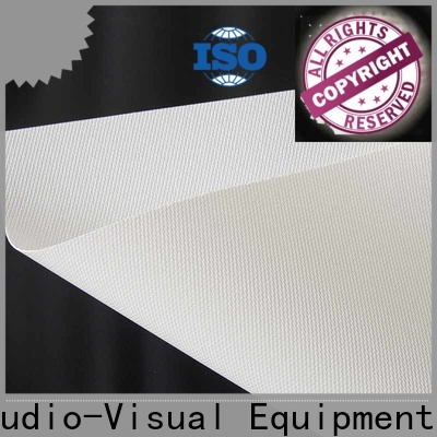 transparent acoustically transparent screen series for thin frame projector screen