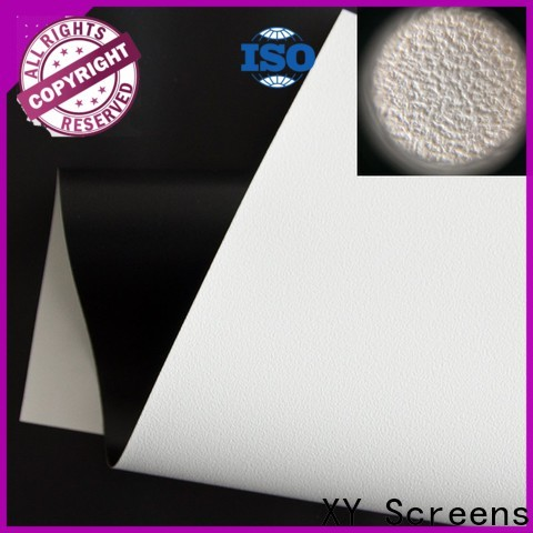 XY Screens front fabrics with good price for motorized projection screen