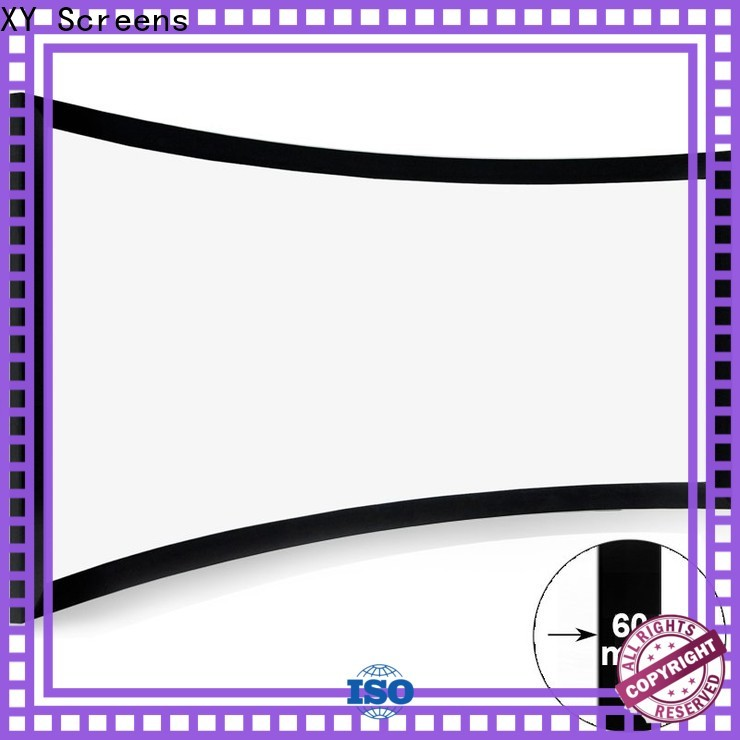 mini Home Entertainment Curved Projector Screens factory price for home cinema