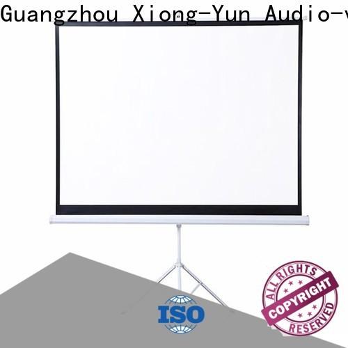 environmentally portable tripod screen supplier for meeting