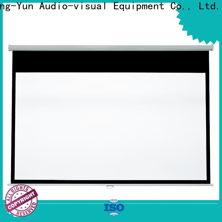 XY Screens wide viewing range pull down projector screen factory for classroom