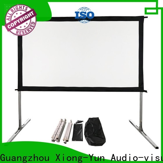 XY Screens best outdoor projector factory price for square