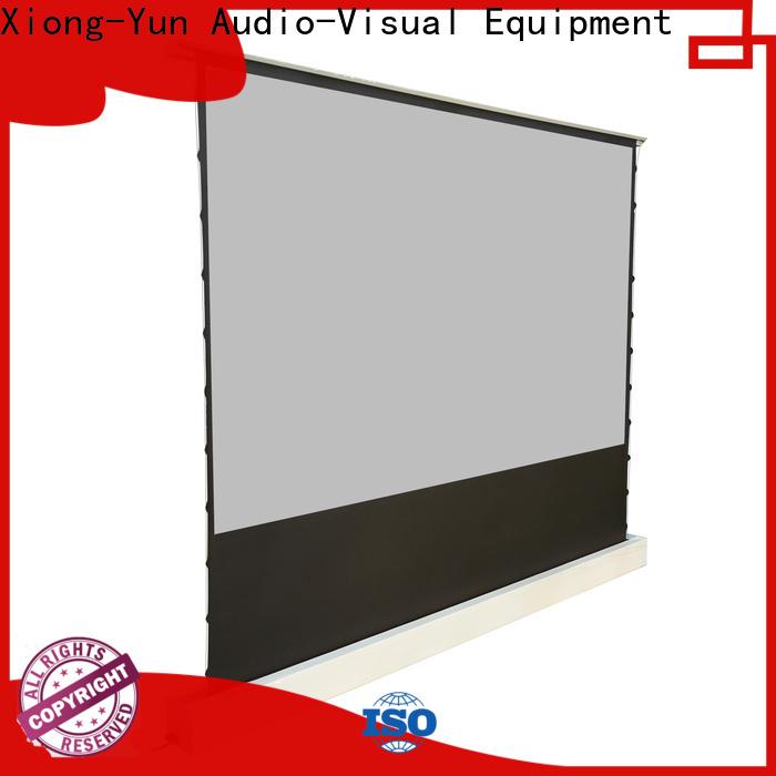 XY Screens white floor rising screen design for household