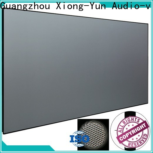 XY Screens ultra short focus projector series for television