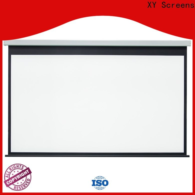 retractable motorized screens personalized for rooms
