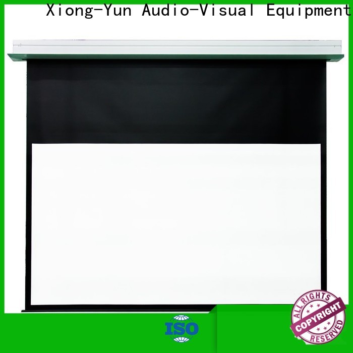 XY Screens stable theater projector screen with good price for household