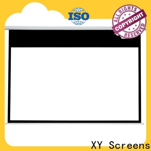 intelligent motorized projector screen factory price for home