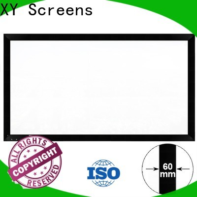 XY Screens mini home cinema screen inquire now for company
