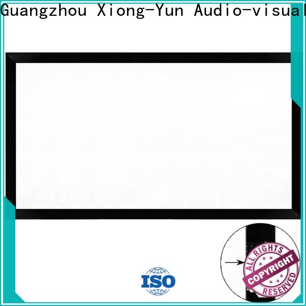 slim home theater projector screen wholesale for meeting room