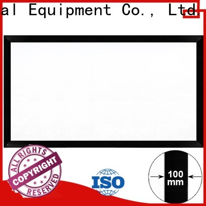 XY Screens projector screen price customized for home