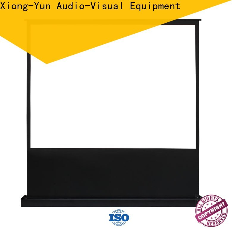electric floor rising screen inquire now for living room
