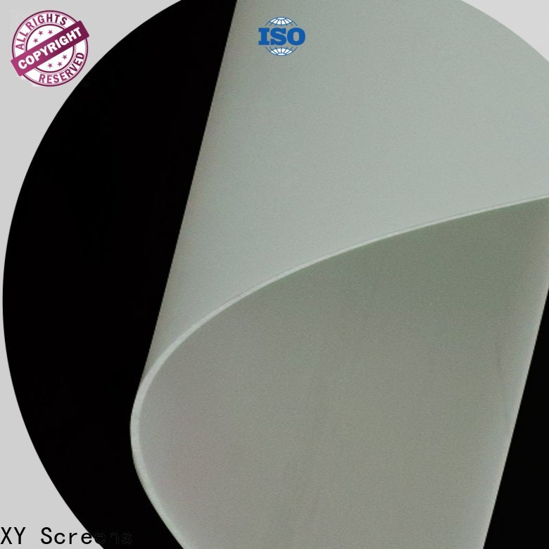 XY Screens projector screen fabric inquire now for motorized projection screen