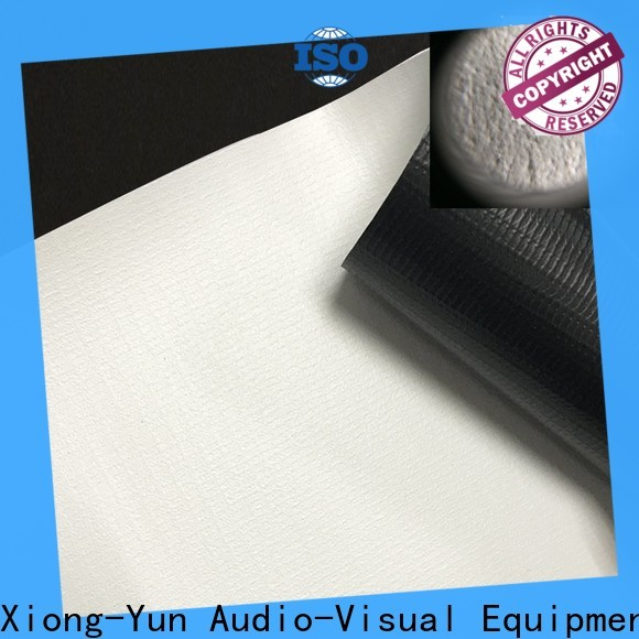 XY Screens projector fabric with good price for thin frame projector screen