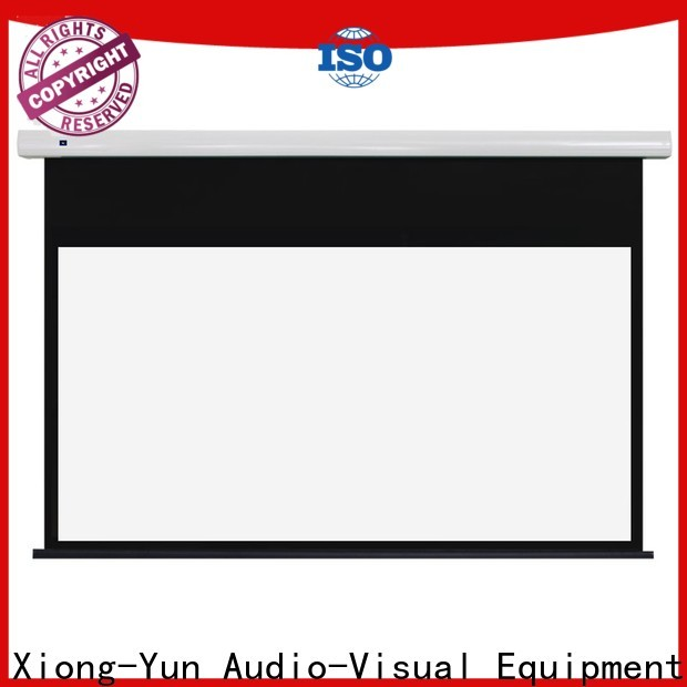 XY Screens durable Motorized Projection Screen supplier for rooms