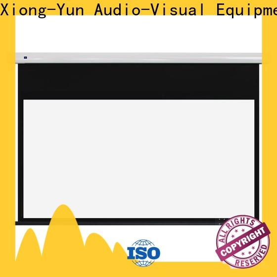 XY Screens white Portable Projection Screen company with good price for living room