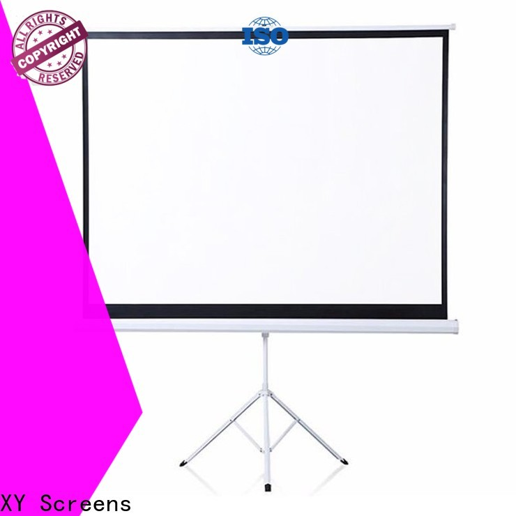 XY Screens stable tripod screen factory price for meeting room
