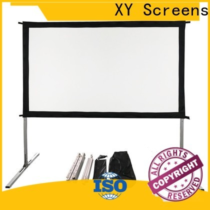 XY Screens outdoor pull down projector screen supplier for park