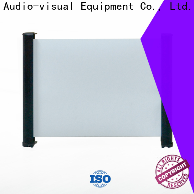 XY Screens curved tabletop projector screens wholesale for indoors