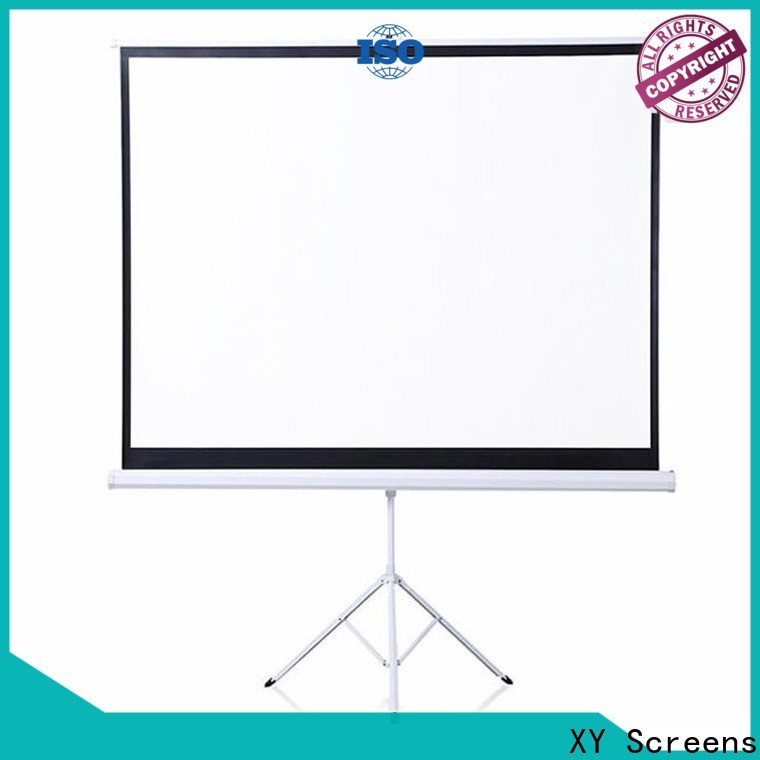 standard portable tripod projector screen factory price for company