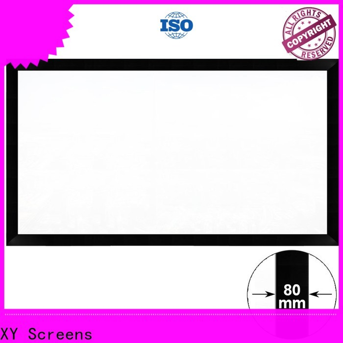 slim home theater projector screen personalized for office