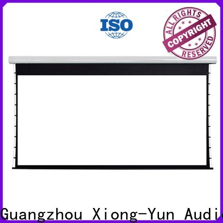 XY Screens portable movie projector series for television