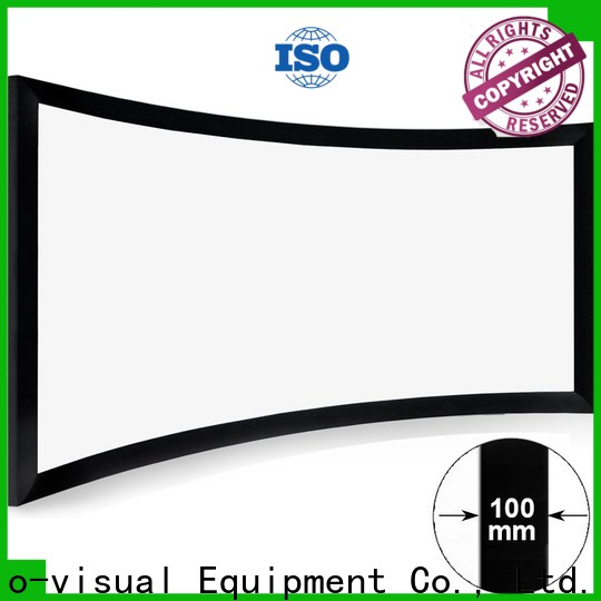 curved curved projector screen diy from China for home ...