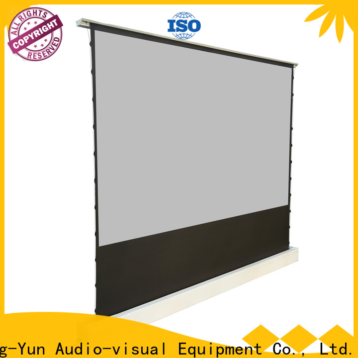 electric projection screen price factory for living room