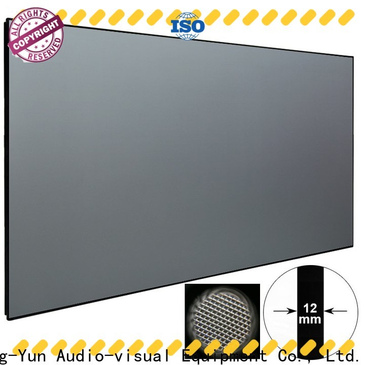 ambient ultra short throw projector screen manufacturer for computer