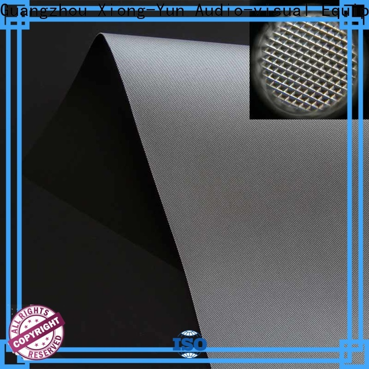XY Screens standard projector cloth manufacturer for fixed frame projection screen