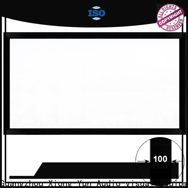 retractable projector screen price directly sale for indoors