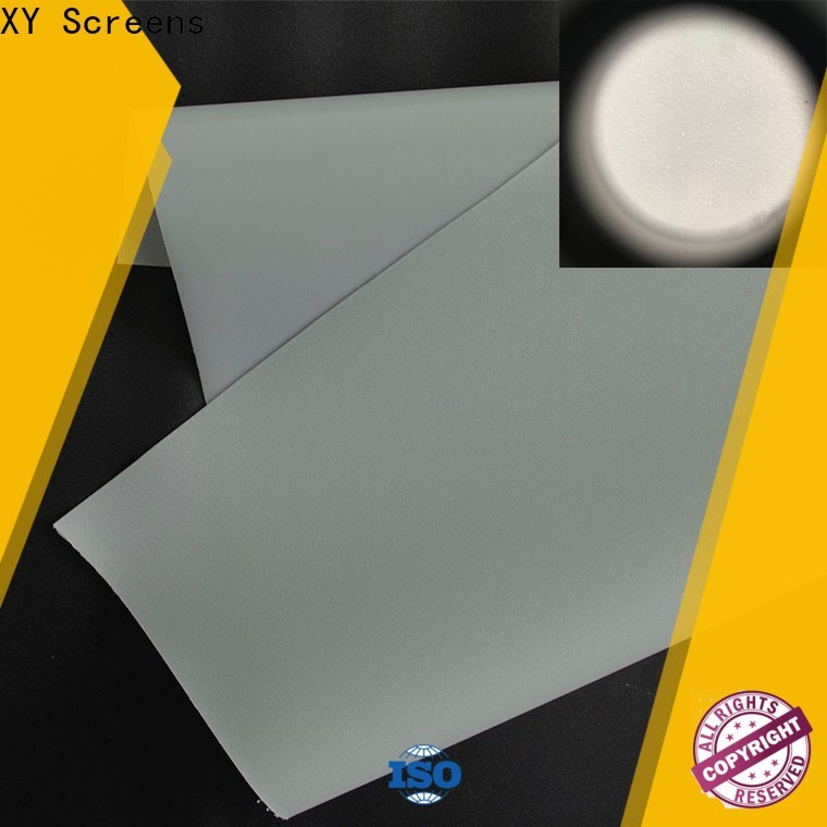 XY Screens rear projection fabric inquire now for fixed frame projection screen