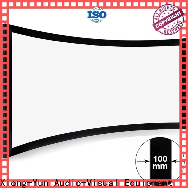 XY Screens thin home cinema projector manufacturer for rooms