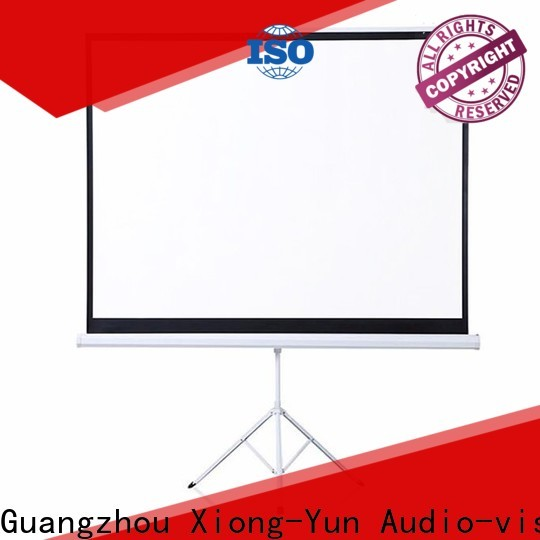 XY Screens tripod projector screen factory price for meeting room