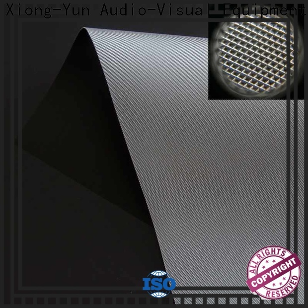 XY Screens projector screen fabric customized for fixed frame projection screen