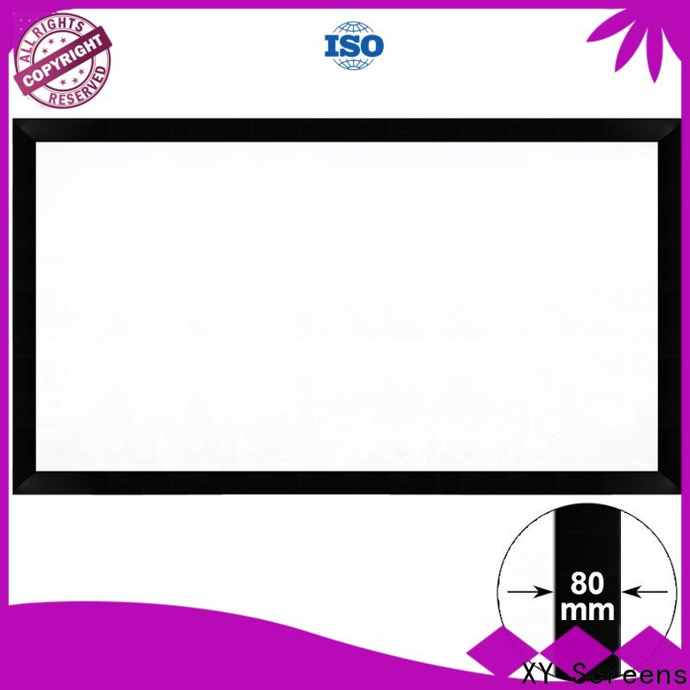 XY Screens movie projector screen factory price for theater