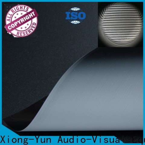 XY Screens standard projector cloth series for motorized projection screen