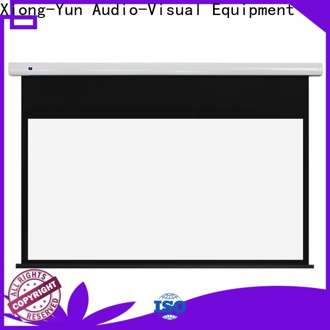 XY Screens electric projector screen supplier for rooms