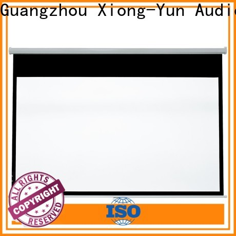 XY Screens projector screen supplier in cebu factory for college