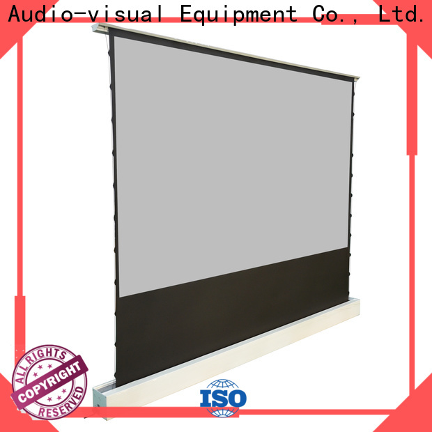 XY Screens rising pull up projector screen inquire now for living room