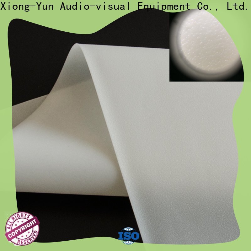 XY Screens flexible projector screen fabric factory for projector screen