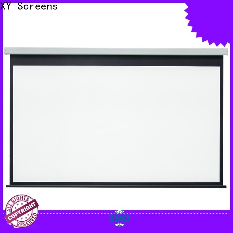 retractable Home theater projection screen personalized for home
