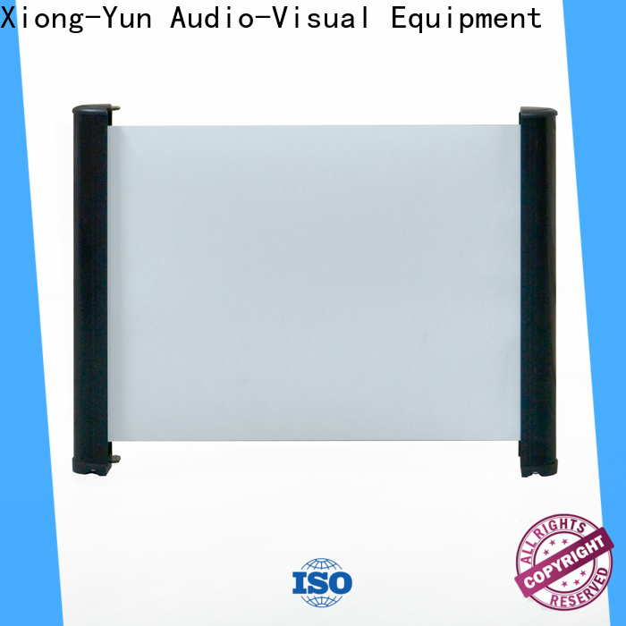 XY Screens curved table top screen factory price for household