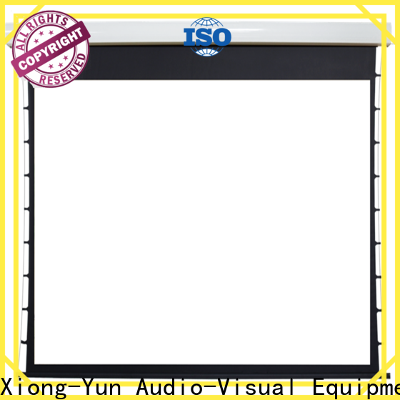 stable motorized screens wholesale for theater