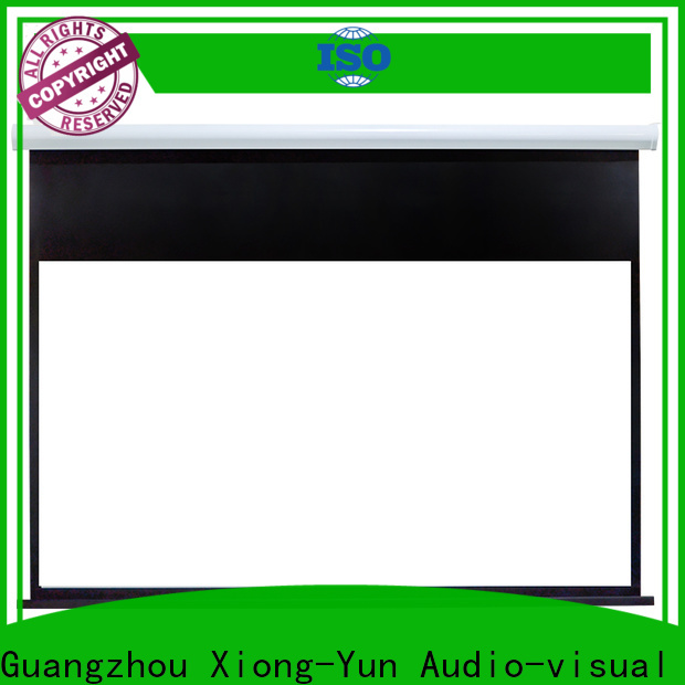XY Screens curved motorized screens wholesale for home