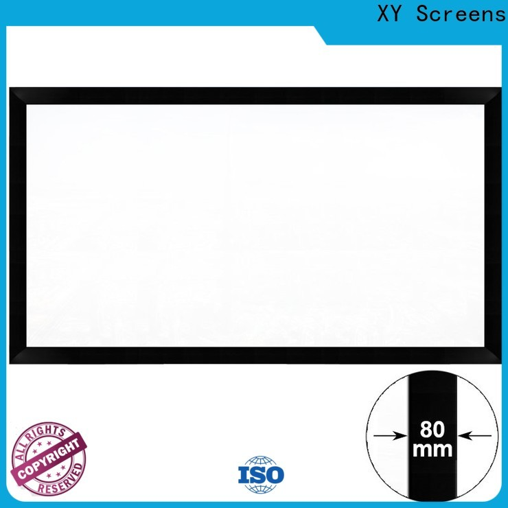 XY Screens slim movie projector screen factory price for meeting room
