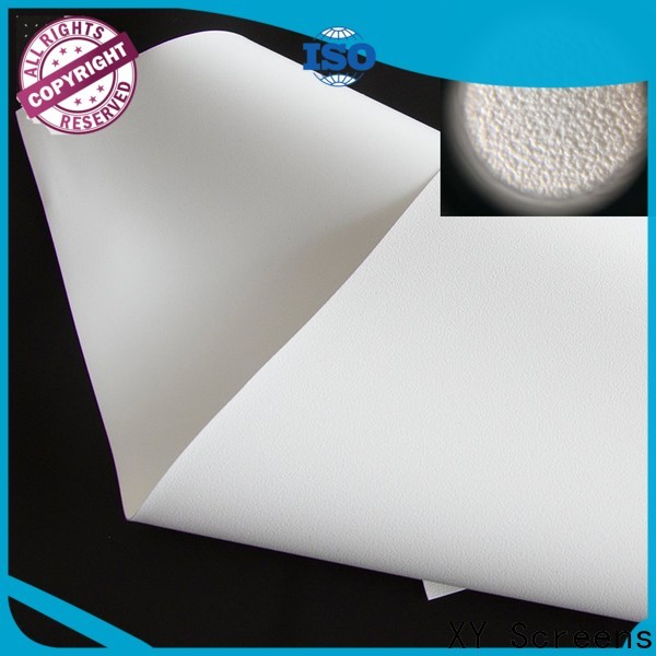 quality projector fabric factory for thin frame projector screen