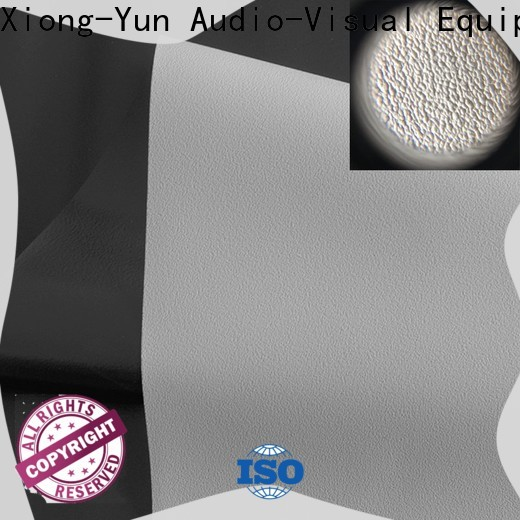 quality front fabrics with good price for motorized projection screen